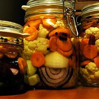 Karfiol, répa, csípőspaprika
