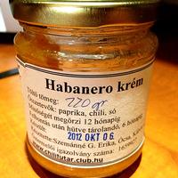 Habanero krém a Chilifutár Baráti Körtől