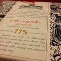 Chillis csoki a Rózsavölgyi Csokoládétól