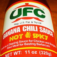 Banana chili sauce