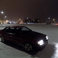 Hójárás az éjszakában AE86 módra