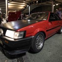 Totalcar Múzeumok éjszakája III.  -  AE86 a passzázson