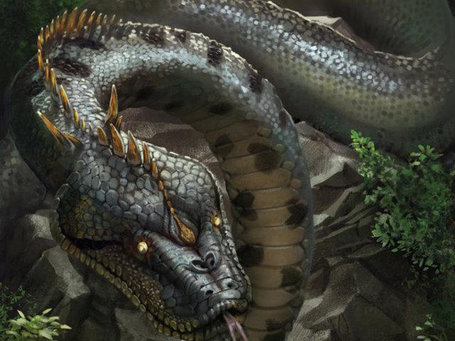 Yacumama, a szörnykígyó
