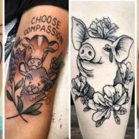 16+1 vegán tetoválás, amit imádni fogsz