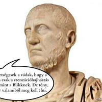 Tacitus történetírásai, az ókori Blikk