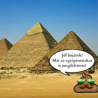 Csokiduda és a piramisok