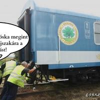 Lux Elvira, avagy miért késnek a vonatok