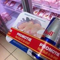 Red Bull és csirke egy csomagban