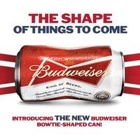 Budweiser csokornyakkendővé alakította az alu dobozt