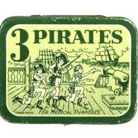 Vintage óvszer csomagolások