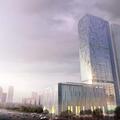 9 szintes épület műanyag palackból
