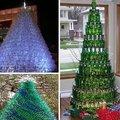 Hihetetlen kreatív karácsonyfák hulladékból