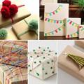 Barna háztartási csomagolópapír karácsonyra