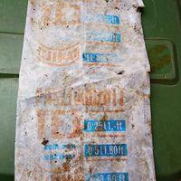 50 éves tejes zacskó az erdőben