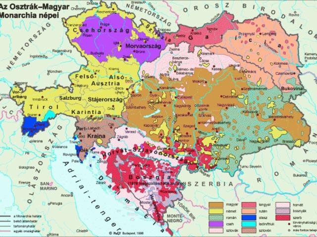 Így nézhetne ki a Kárpát-medence etnikai térszerkezete, ha nincs Trianon