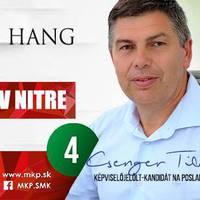 Csenger Tibor: Kell helyi hang a Nyitra megyei testületbe