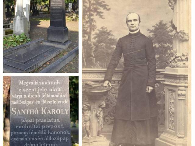 Egy elfelejtett zselízi jótevő – Santhó Károly