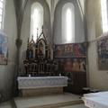 Hetvenöt éve megsemmisült freskóképet teremtettek újra Zselízen
