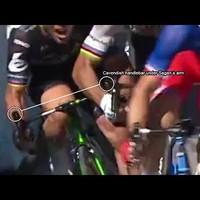 Sagan vs Cavendish, jogos volt-e Sagan kizárása?