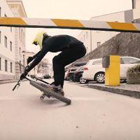 Urban Freeride - Fabio Wibmer