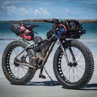 Salsa Mukuluk bikepacking