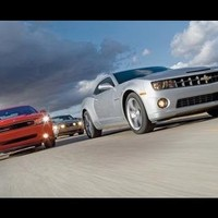 2010 Chevy Camaro SS vs 2010 Ford Mustang GT 2009 Dodge Challenger R/T