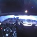 Erre jár egy év után az űrbe lőtt Tesla