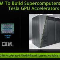 A jövő szuperszámítógépein dolgozik az IBM és az nVidia