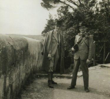 Kerényi és Szerb Olaszországban 1936-ban.JPG