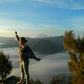 Gunung Bromo, Jáva, Indonézia
