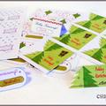 Karácsonyi ültetőkártya  2. rész