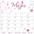 Májusi naptár