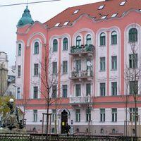 Pozsony - színes házak