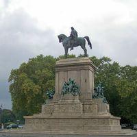 Róma - Garibaldi emlékmű