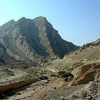 Izrael - holdbéli táj