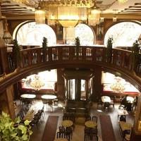 Prága - Hotel Evropa lámpái