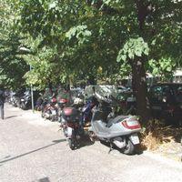 Róma - parkolás