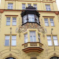 Prága - sárga ház