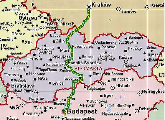 krakkó térkép Krakkó – út oda | Csurtusék utaznak krakkó térkép