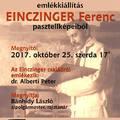 Einczinger Ferenc emlékkiállítás a Tár-Lak Szalonban