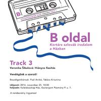 B oldal - Kortárs szlovák irodalom a Kaleidoszkóp Házban / Track 3