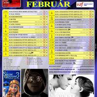A párkányi Danubius Mozi februári műsora