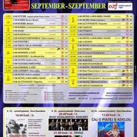 Párkányi Danubius Mozi szeptember havi műsora