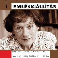 Janikovszky Éva emlékkiállítás a Rondella Galériában