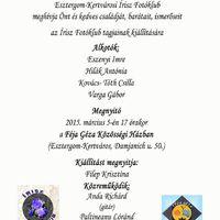 Írisz Fotóklub tagjainak kiállítása