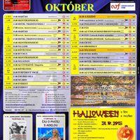 Október a Danubius Moziban