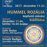 Hummel Rozália kiállításának megnyitója a Tár-Lak Szalonban