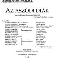 Jelenetek Petőfi Sándor diákéletéből