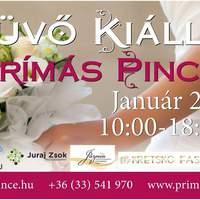 Esküvő Kiállítás a Prímás Pincében