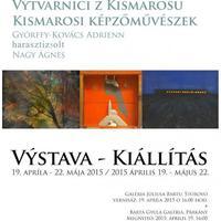 Kismarosi képzőművészek a párkányi galériában